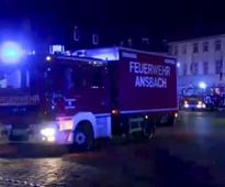Germany blast: Syrian man dies in explosion near Ansbach music festival