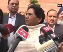 Won't unnecessarily raise voice against Insurance Bill: Mayawati