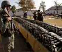 Arms cache recovered from militant hideout in Doda