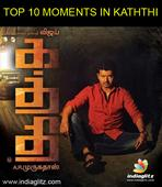 The scenes to look out in Kaththi