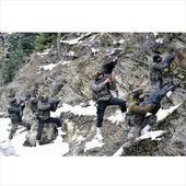 5 militants, 2 army men killed