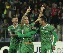 Minev's late goal gives Ludogorets win over Basel