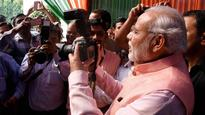 Singing Praises of Press, Modi Turns Media Darling