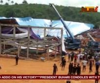 Nigerian church collapse: Toll rises to 160