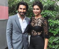 Ranveer and Deepika won't shoot a single scene together in Padmavati?
