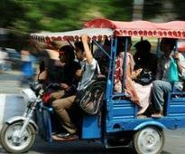 E-rickshaws ply in Delhi despite high court ban