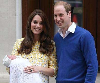 2 days old, the Princess of Cambridge is already worth 80 million
