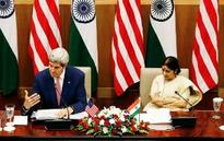 WTO shadow hangs over Kerry-Swaraj dialogue