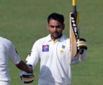 Ton-up Hafeez lift Pakistan to 281/3 vs New Zealand on Day one