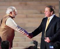 Modi, Sharif meet briefly at SAARC summit, shake hands