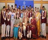 PM felicitates 25 children with bravery awards