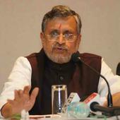 Sushil Kumar Modi accuses Nitish Kumar of running crime protection bureau