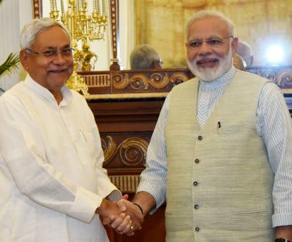 Nitish meets PM after skipping Sonia's lunch