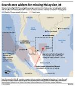 Missing Malaysian plane last seen at Strait of Malacca; CIA says cannot rule out terrorism
