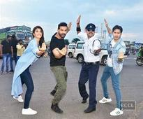 When the 'Dishoom' trio turned traffic cops