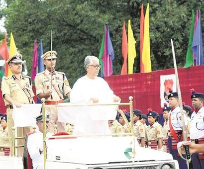 Read Tripura CM's I-Day speech blacked out by govt