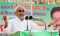 Nitish Kumar attacks Narendra Modi for 'doublespeak' on beef issue