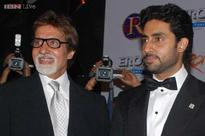 Amitabh Bachchan happy and proud to be awarded with son Abhishek