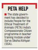 Schoolchildren in State to Get Lessons on Compassion