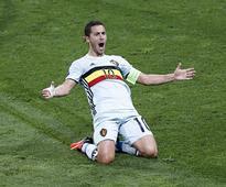 Euro 2016: Hungry Eden Hazard destroys Hungary as Belgium cruise into quarters