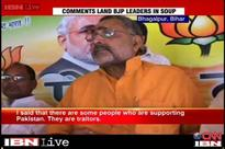 Giriraj Singh sticks to his 'Modi baiters must go to Pakistan' remark