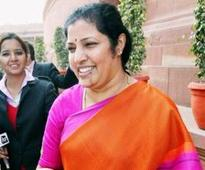 NTRs daughter Purandeswari dumps Congress, joins BJP