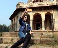 Nargis Fakhri loves clicking India's historic locations