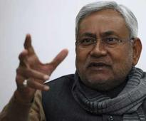 Nitish Kumar lashes out at UP govt for deviating from the ideals of Ram Manohar Lohia