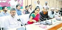 K Kavita assures to raise issue of 12% reservations in parliament