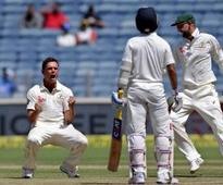 India bowled out for 105, concede 155-run lead