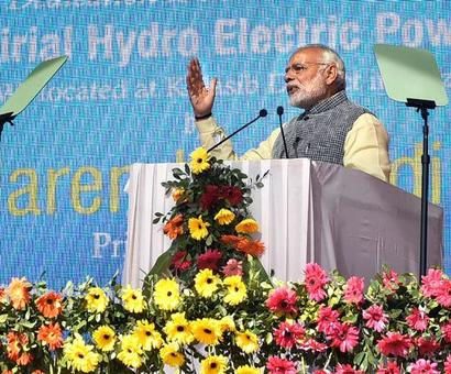 PM unveils key road, power projects to boost development in north east