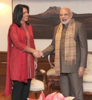 Modi is a leader with 'plan of action': Tulsi Gabbard