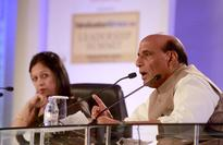 Rajnath Singh talks tough says Pak state actors fuel terror