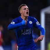 English Premier League round-up: Vardy breaks Nistlerooy's scoring record as Man City go on top