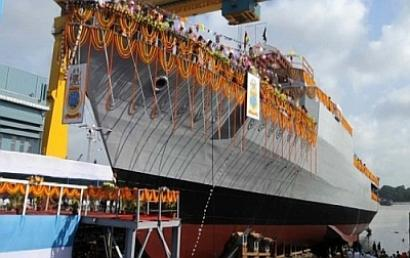 India exports its first warship to Mauritius today