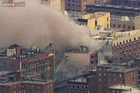 2 New York buildings collapse; 1 person dead, 16 injured