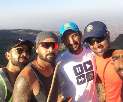 Team India go trekking after Pune stumble