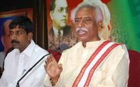 Minister Bandaru Dattatreya trapped in lift, rescued