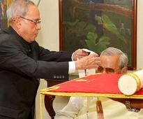 Bharat Ratna presented to Vajpayee; Modi says 'historic day'