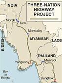 IndiaMyanmarThailand highway becomes operational