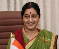 Sushma Swaraj Arrives in Nepal for Joint Commission Meeting