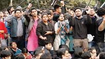 JNU campus row: Politicans join protests against sedition charge on students union leader
