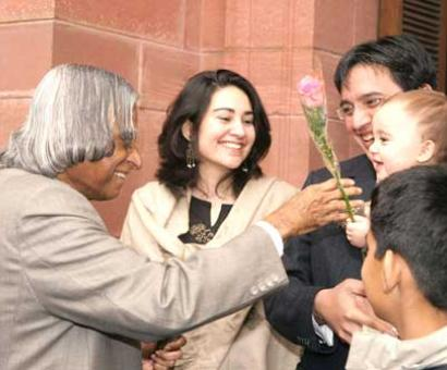'Kalam never complained of the food, even when it was salty'