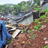 Landslide at Chembur claims six-year-old's life, injures slum-dwellers