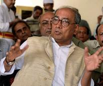 Modi took credit for work done by UPA: Digvijaya on PM's 'one