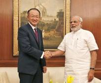 Rather than dollars, we need ideas and knowledge, Modi tells World Bank chief