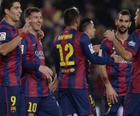 Luis Suarez Opens La Liga Account, Lionel Messi at Double
