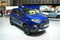 Ford EcoSport Facelift At Geneva Was Without Rear-Mounted Spare Wheel