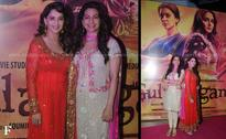 Images: Madhuri, Juhi add the Indian touch to Gulaab Gang screening