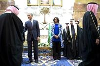 Michelle pays homage to King Abdullah without wearing headscarf